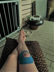 Knie blessure